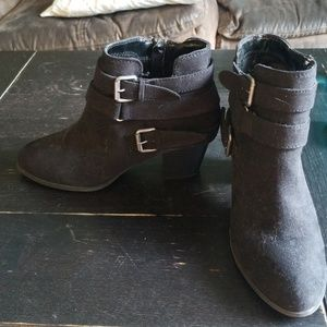 Express black ankle boots size 8